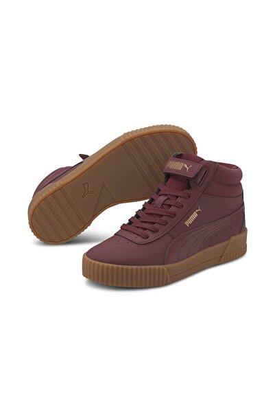 Puma CARINA MID Bordo Kadın Sneaker Ayakkabı 101119318