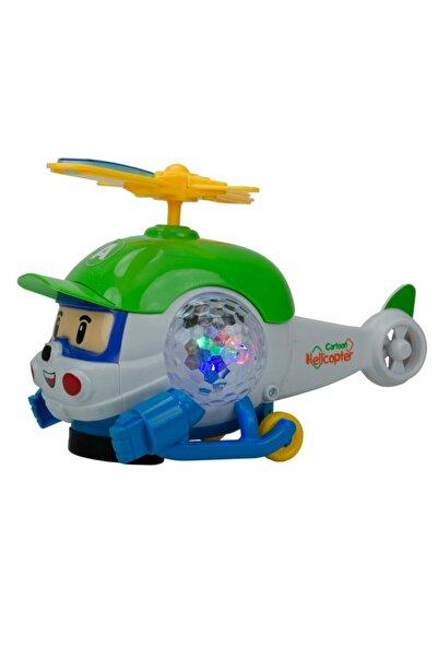 SUDEN Cartoon Helikopter Oyuncak Müzikli Ve Işıklı Özellik
