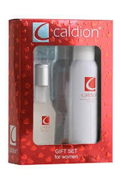 Caldion Orıjınal For Women Edt 100 Ml Kadın Parfüm + 150 Ml Deodorant+rollon Üçlü Set