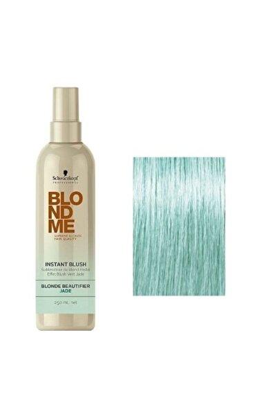 SCHWARZKOPF HAIR MASCARA Blondme Instant Blush Jade Saç Boyası 250ml Pastel Yeşil