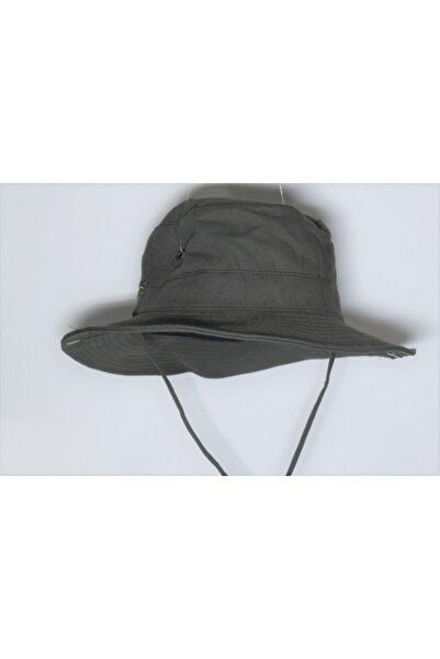Saadetoğlu Şapka Yılmazel Yazlık Katlanabilir Safari Kovboy Şapka Havalandırma Delikli