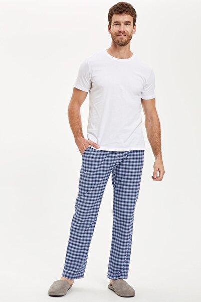 DeFacto Fit Erkek Lacivert Pijama Takım S3818AZ20AU