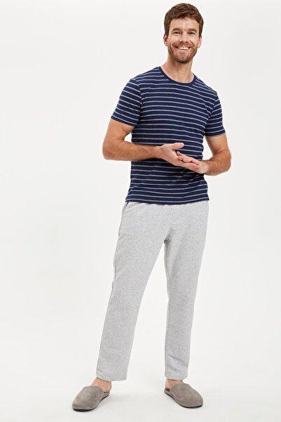 DeFacto Fit Erkek Lacivert Pijama Takım S3816AZ20AU