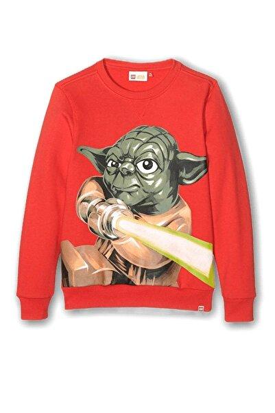 Lego Wear Erkek Çocuk Star Wars YODA SKEET 850 Sweatshirt