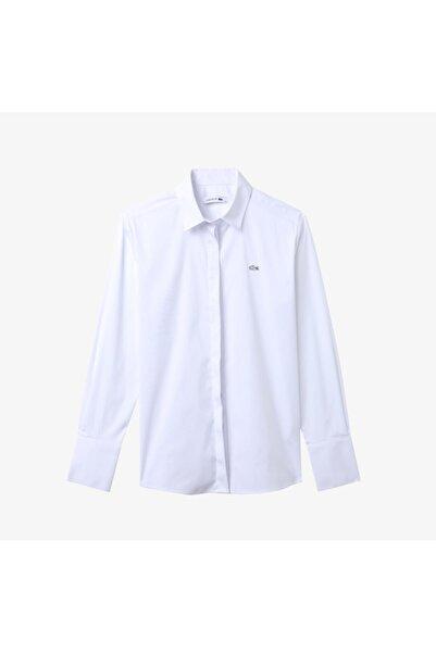 Lacoste Kadın Beyaz Gömlek CF2155