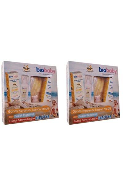 Biobaby 2 Adet Güneş Koruyucu Spf50+ Losyon Seti