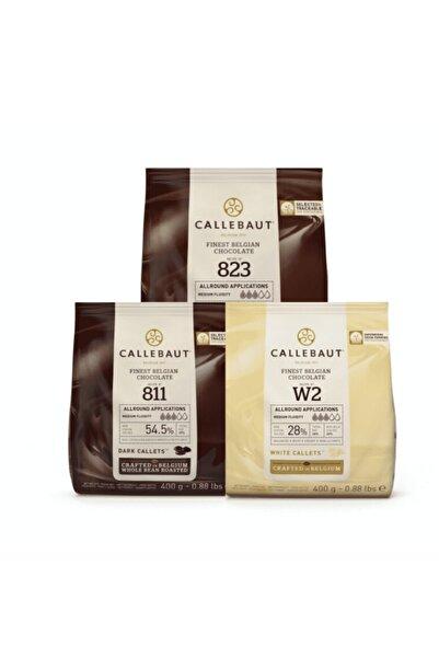 Callebaut 400 Gr 3'lü Paket