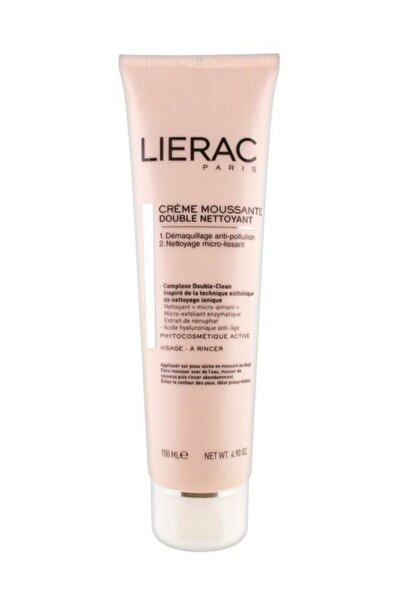 Lierac Double Cleansing Foaming Cream 150 ml