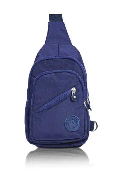 BAGzy Mavi Nw Kanvas Badybag Postacı Çantası