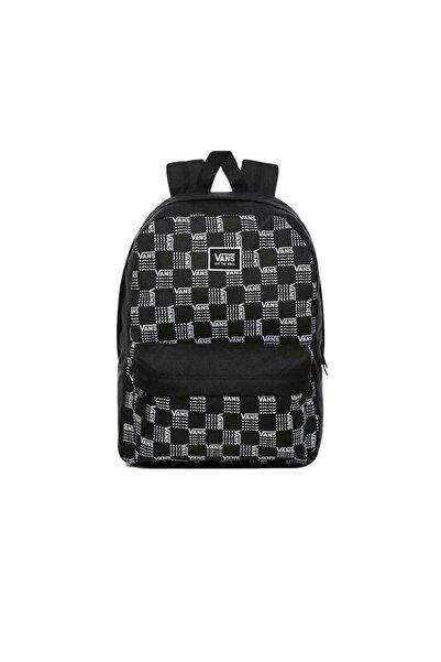 Vans Realm Classic Backpack Unisex Siyah  Çanta Vn0a3uı7zm01