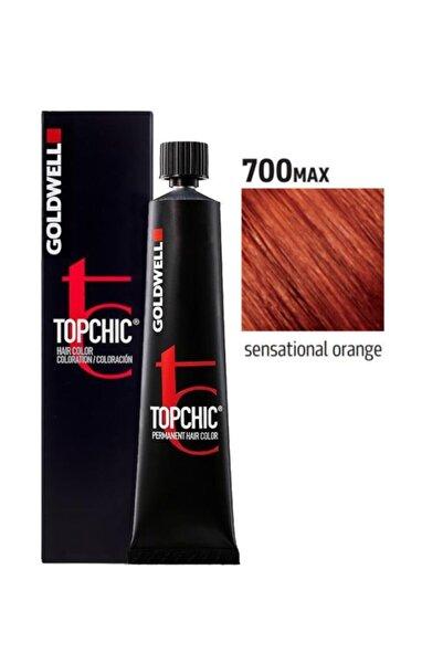 GOLDWELL Kızıl Bakır 7OO  Topchich Kalıcı Saç Boyası 60 ml  4021609000952