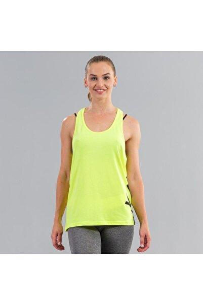 Ral Sport Kadın Neon Sarı Baskılı Spor Atlet 31250