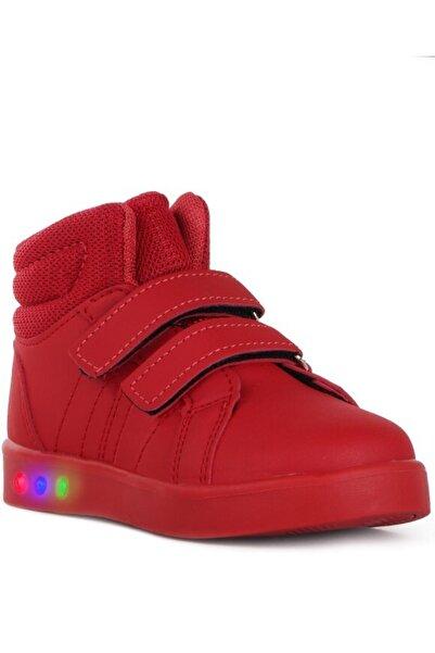 Cool Unisex Bebek Kırmızı Vojo 19-k27 4136 Bilekli Işıklı  Spor Ayakkabısı