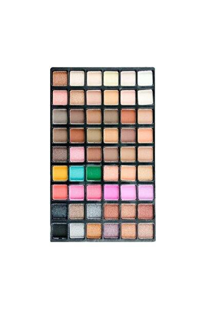 Ocean Makyaj Göz Farı 54'lü Palet -Göz Farı 54 Renk Far Paleti