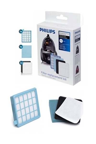 Philips Phılıps Fc 9323/07 Powerpro Compact Hepa Filtre Seti