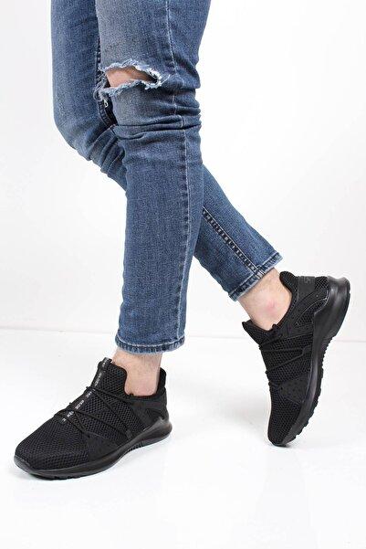 Oksit Erkek Siyah Gınnex Spor Ayakkabı 8009