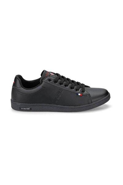 U.S. Polo Assn. Erkek Siyah Franco Sneakers Ayakkabı 100325575