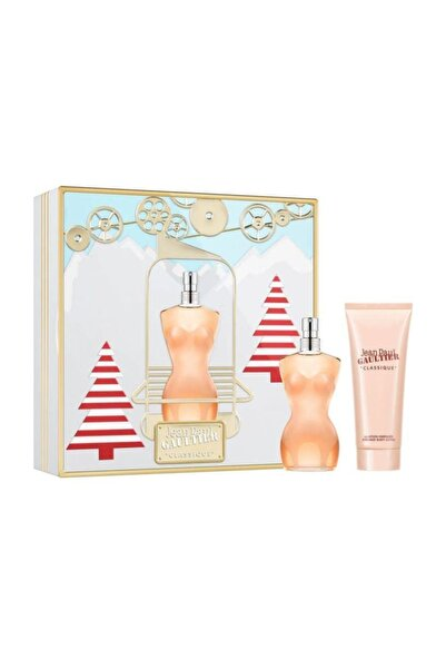 Jean Paul Gaultier Classique Edt 100 ml Kadın Parfüm Seti