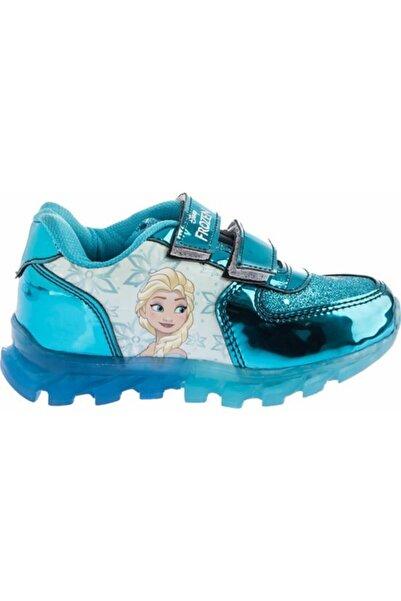 Kız Çocuk Turkuaz Elsa Anna Spor Ayakkabı