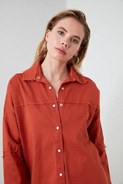 Kiremit Basic Gömlek TWOSS20GO0422