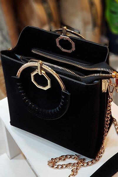 Limoya Bags Kadın Siyah El Ve Omuz Çantası