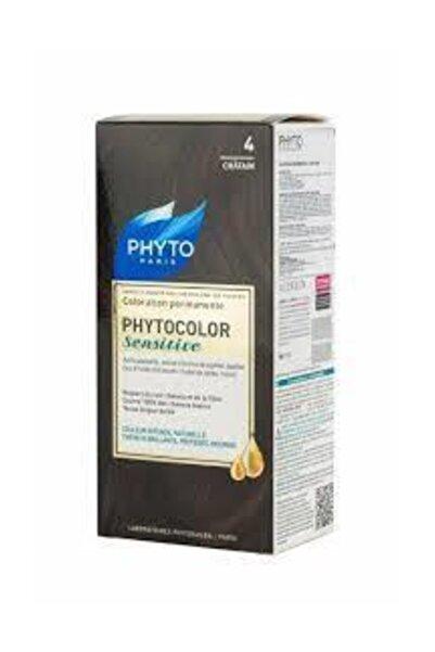 Phyto Bitkisel Saç Boyası - Phytocolor Sensitive 4 Kestane