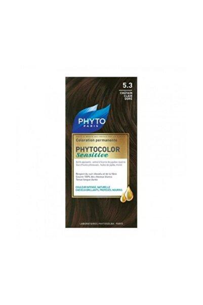 Phyto Bitkisel Saç Boyası - Phytocolor Sensitive 5.3 Dore Açık Kestane