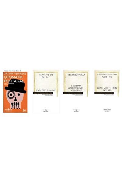 İş Bankası Kültür Yayınları Otomatik Portakal/ Vadideki Zambak/ Bir Idam Mahkumunun Son Günü/ Genç Werther'in Acıları (4 Kitap)