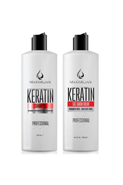 Glutensiz Keratin Şampuan , Keratinli Şampuan Ve Glutensiz Keratin Saç Kremi 1000 ml