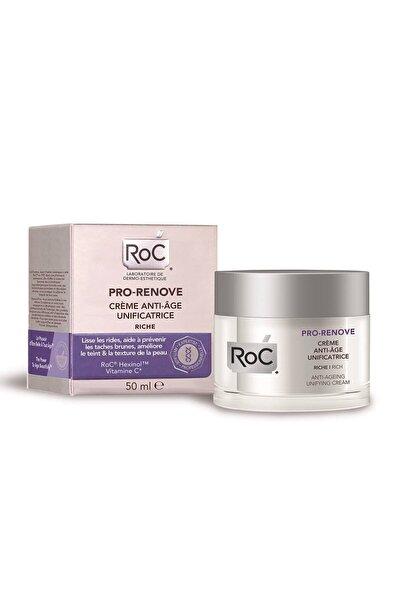 Roc Kuru Ciltler için Kırışıklık Karşıtı Krem - Pro Renove Rich 50 ml