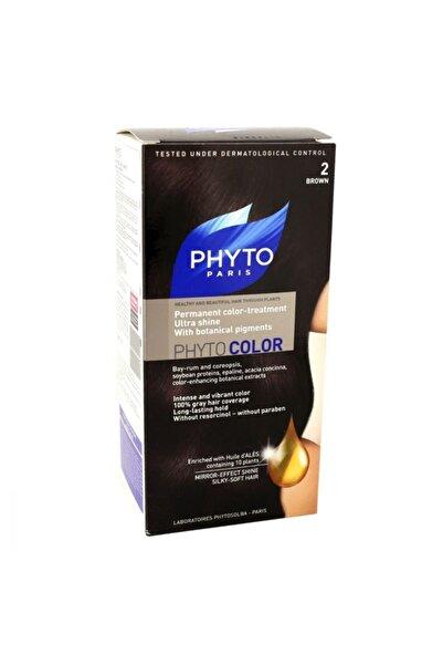 Pyhtocolor 2 Kahverengi Saç Boyası