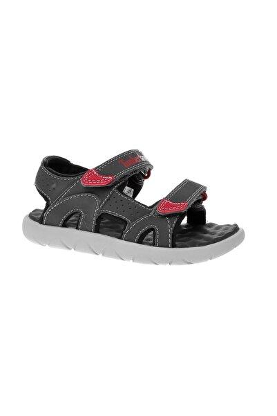 Timberland Erkek Çocuk Gri Forged Iron  Sandalet 1TBLK2018039