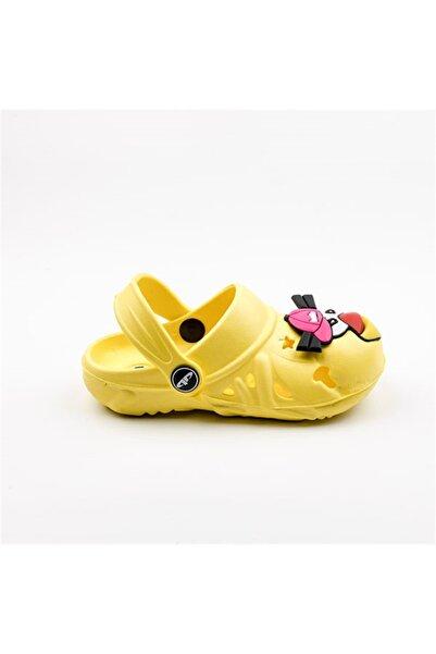 Akınal Bella Kız Çocuk Sarı Sandalet