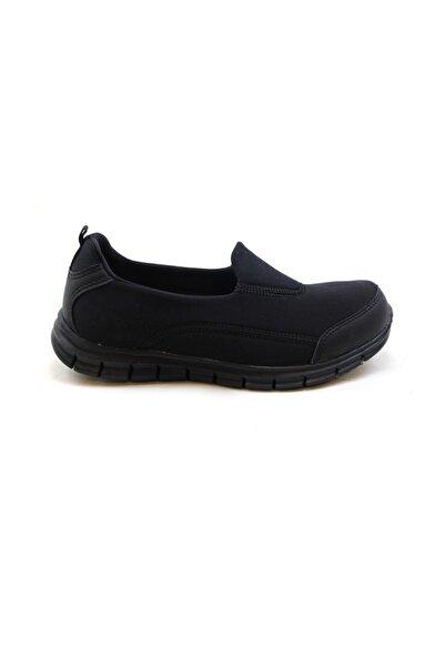 Scooter Kadın Siyah Lastikli Ayakkabı Z5480