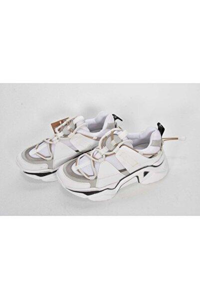 Pierre Cardin Kadın Beyaz Spor Ayakkabı