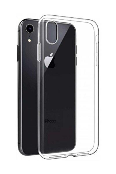 Apple Iphone Xr Toz Koruma Tıpalı Ultra Ince Şeffaf Silikon Kılıf