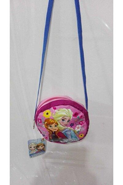 DISNEY Kız Çocuk Pembe Disney Frozen Omuz Kol Çantası