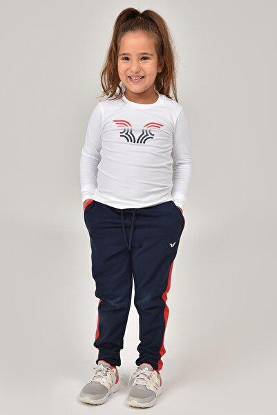 bilcee Beyaz Unisex Çocuk T-Shirt FW-1484