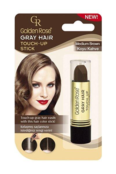 Saç Beyazlarını Kapatan Stick Koyu Kahverengi - Grey Hair Touch-up Stick 8691190067151