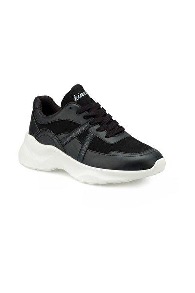 Kinetix Kadın Siyah Ayew Sneaker Ayakkabı