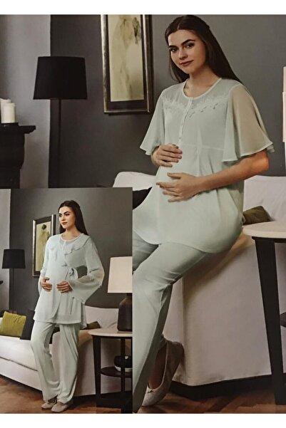 Eros 3'lü Loğusa Pijama Takımı