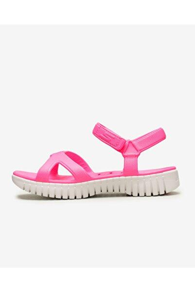 SKECHERS Go Walk Smart - Kadın Pembe Sandalet 111116 Npnk