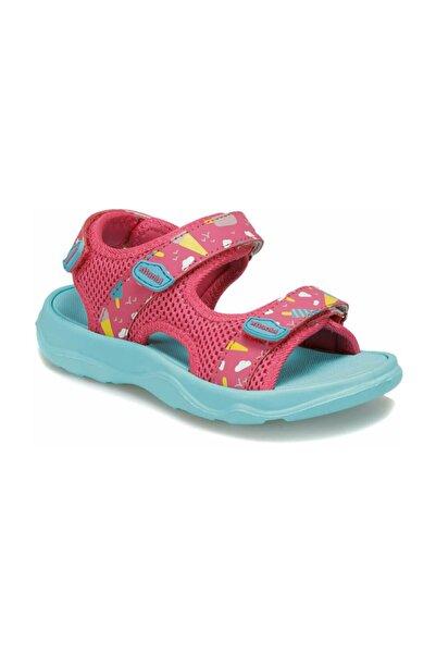 Kinetix Kız Çocuk Fuşya Mavi Sandalet
