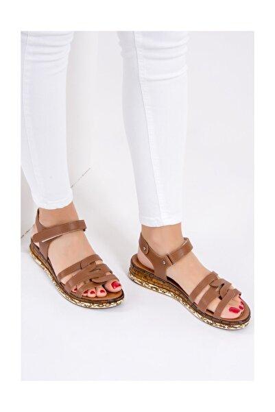 Fox Shoes Kadın Taba Sandalet F288091109
