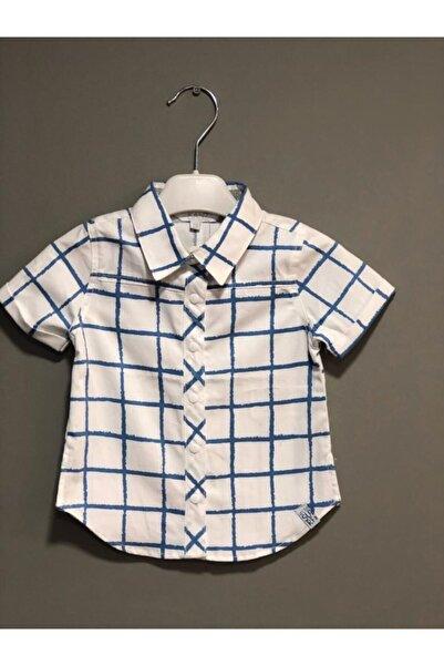 Kanz Erkek Bebek Desenli Gömlek 183-2591
