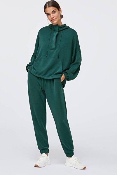 Oysho Kadın Yeşili Yumuşak Dokulu Jogger Pantolon