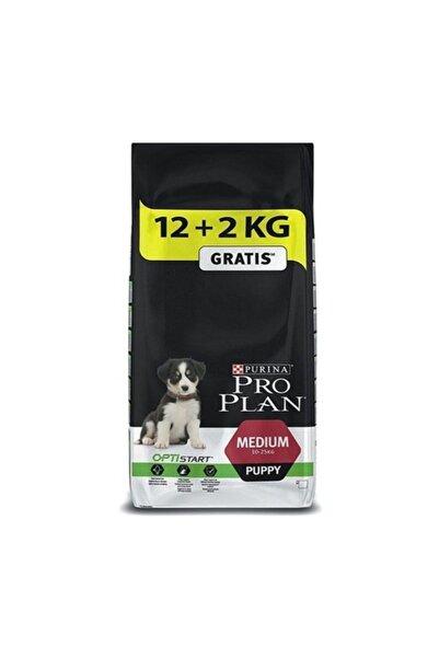 Proplan Pro Plan Orta Irk Tavuk Etli Yavru Köpek Maması - 12 + 2 kg