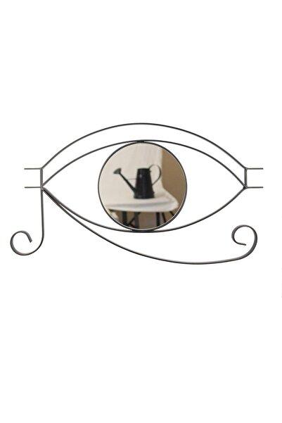 Desen Dekorasyon Göz Ayna Antik Horus Metal Çerçeveli Küçük