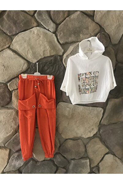 Elif Bebe Kız Çocuk Pantalonlu Takım