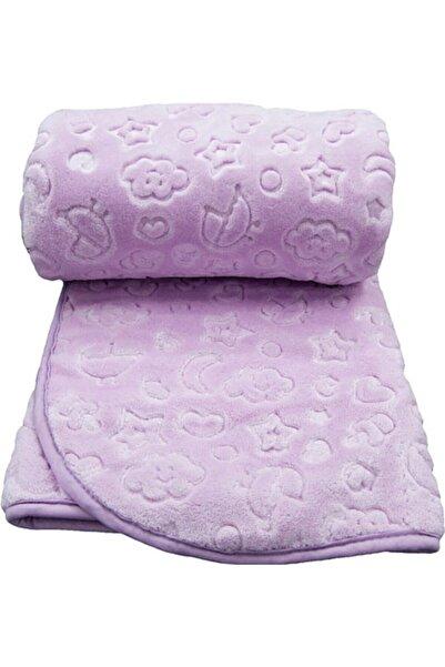 Recos Kuzum Bebe Premium Kabartmalı Peluş Bebek Battaniyesi